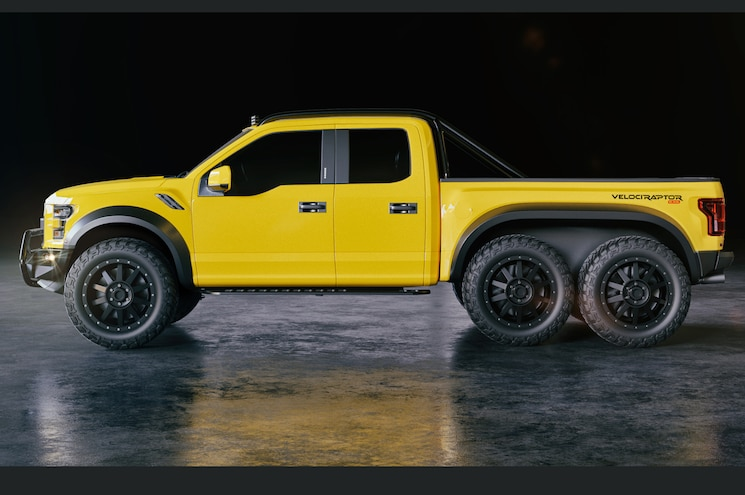 The Hennessey VelociRaptor 6x6 to Debut at SEMA #TENSEMA17