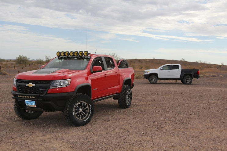 001 Chevrolet Colorado Zr2 Hall Racing Haularado