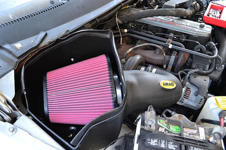 006 Basic Bolt Ons 5.9L 12 Valve Cummins Engines Airaid Intake
