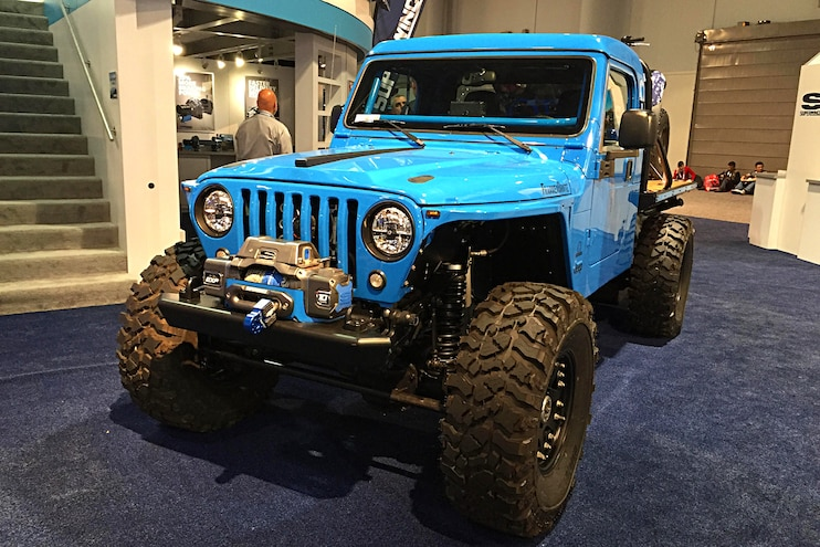 2017 Sema Show Trucks Day 3 Jeep