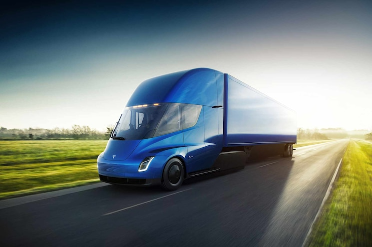 Anheuser-Busch Places Order for Forty All-Electric Tesla Semis
