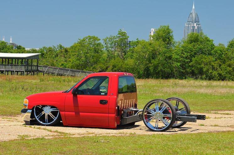 2002 Gmc Sierra Ole Red Side
