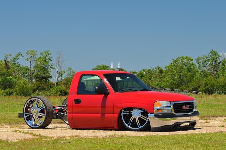 Busted Knuckles: 2002 GMC Sierra- Ole Red