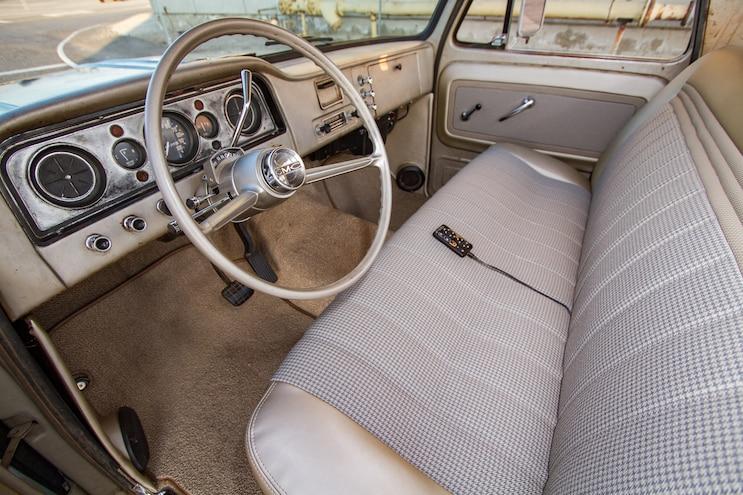 1965 GMC Custom The Mayor Interior