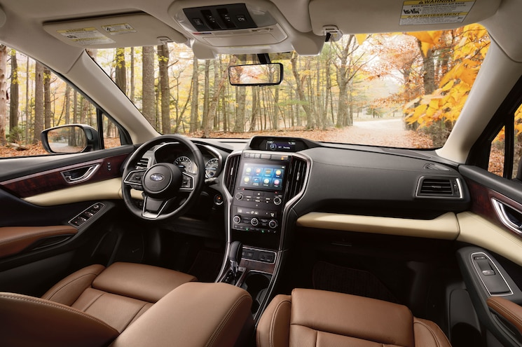 2019 Subaru Ascent Touring Interior Front Cabin