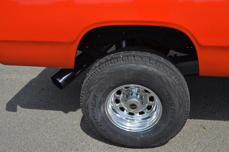 Orange Crush Rear Suspension