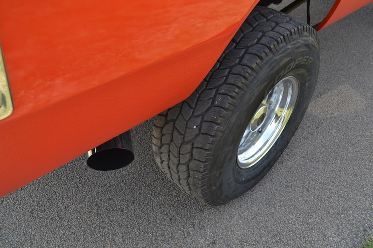 Orange Crush Exhaust