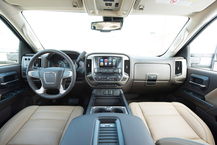 2018 GMC Sierra 2500HD Denali Interior
