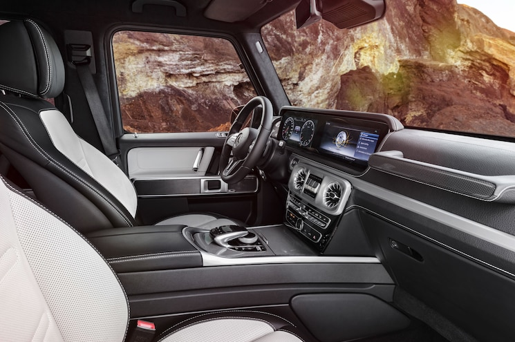 2019 Mercedes Benz G Class Interior Front Cockpit Designo Brown
