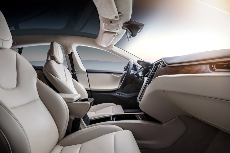 Drivers Seat 72 Hours Tesla Interior