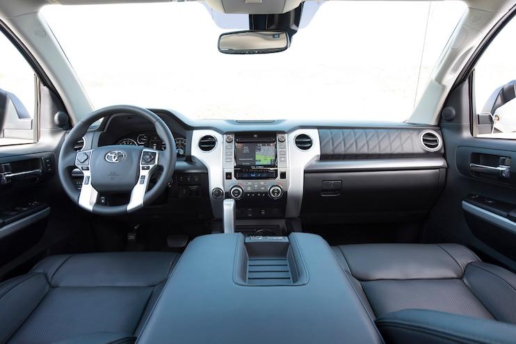 2018 Toyota Tundra Platinum Interior