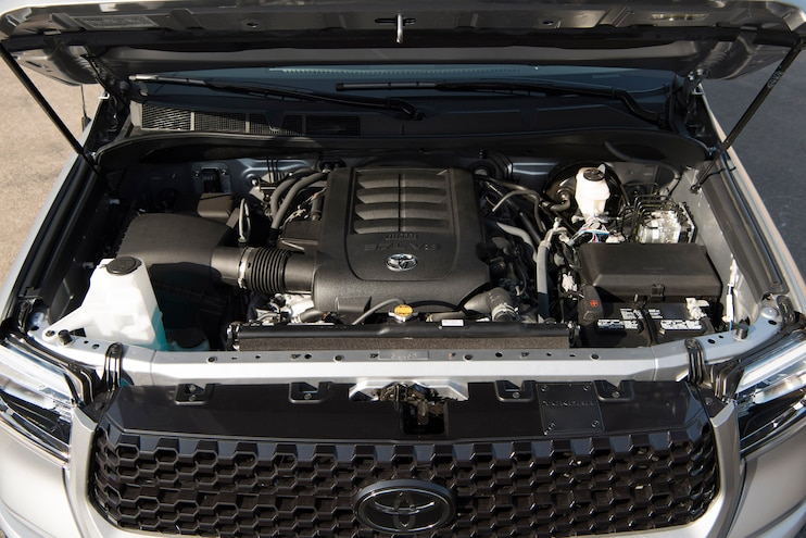 2018 Toyota Tundra Platinum Engine