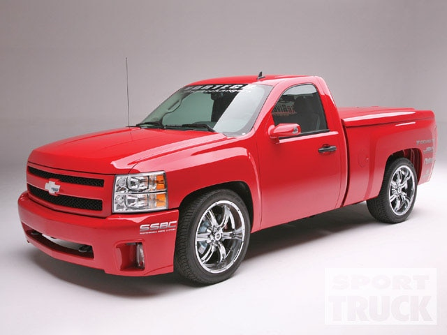 2008 Chevy Silverado - Builder's Blueprint - Dropped And Twin Screwed