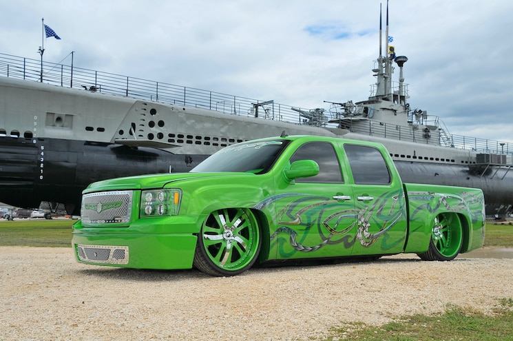 2008 GMC Sierra 1500- Green Envy