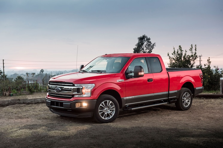 2018 Ford F 150 Power Stroke Diesel Exterior Front Three Quarter