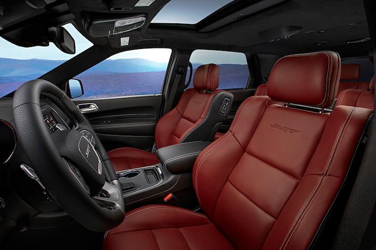 2018 Dodge Durango Srt First Drive Interior