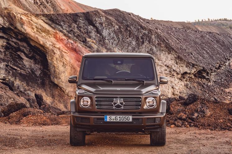 2019 Mercedes Benz G550 Exterior Front View 02