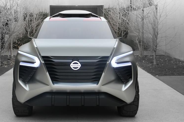 2018 Nissan Xmotion Concept Exterior Front Grille 02