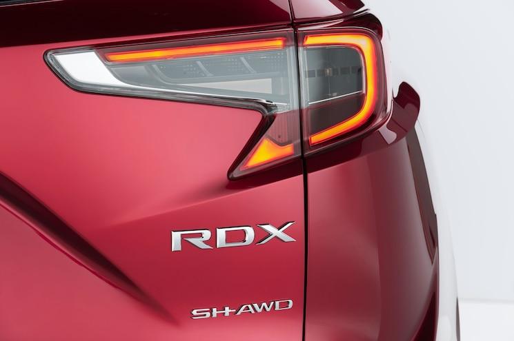 2019 Acura Rdx Prototype Exterior Rear Badging
