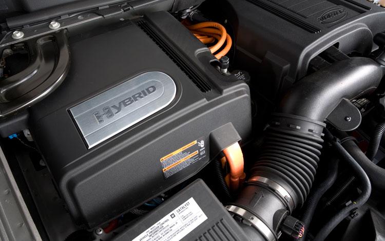 2010 Chevrolet Tahoe Hybrid Engine View Photo Gallery 5 Photos