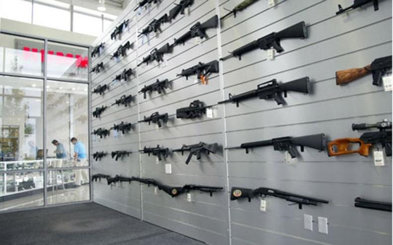 guns And Hummers gun Rack View