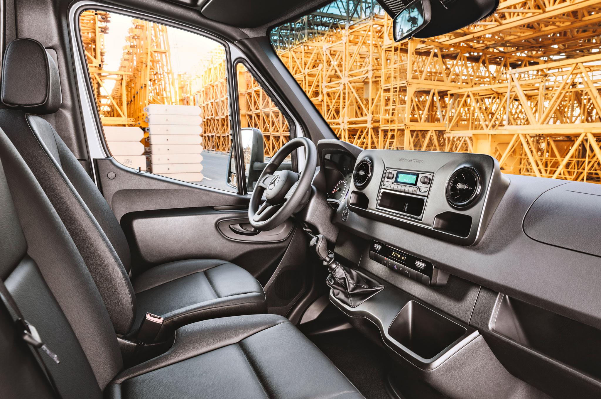 First Look 2019 Mercedes Benz Sprinter