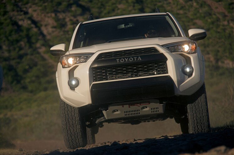 2019 Toyota 4runner Trd Pro Front View