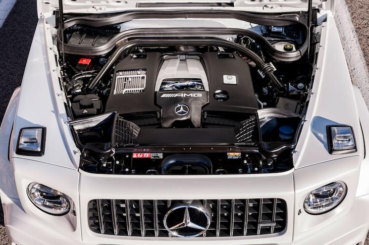 2019 Mercedes Amg G63 Exterior Engine Bay