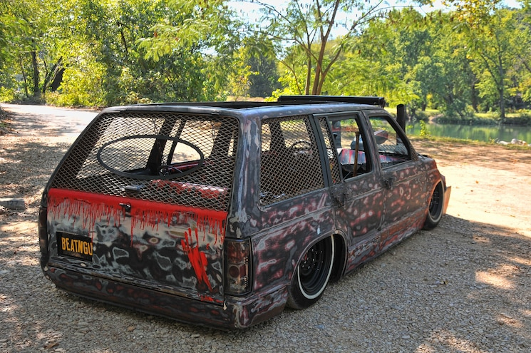 1993 Chevy S10 Blazer Death Trap Rear