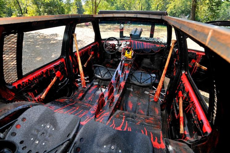 1993 Chevy S10 Blazer Death Trap Interior