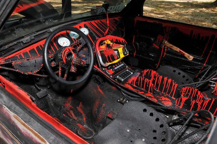 1993 Chevy S10 Blazer Death Trap Interior Up Front