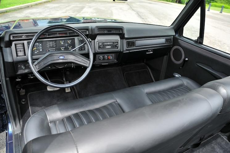 1985 Ford Bronco El Broncero Interior