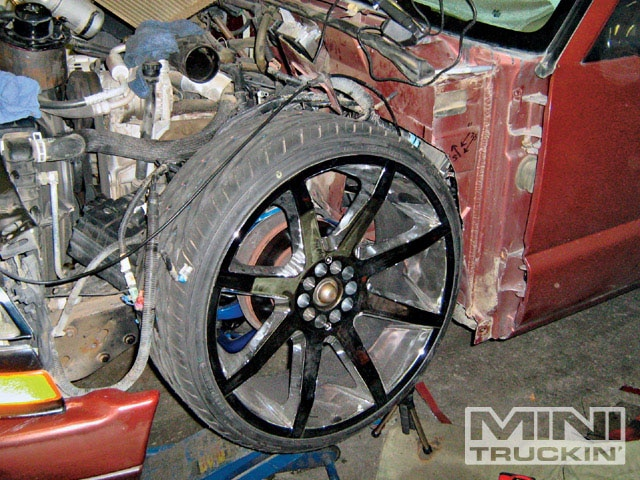 Custom A/C Build And Tubbed Firewall On A Chevy S10 - Daily