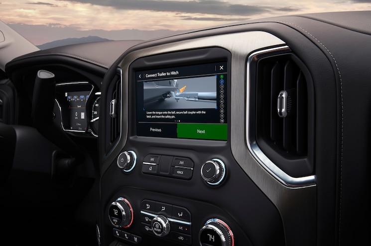 2019 Gmc Sierra 1500 Interior Infotainment Screen