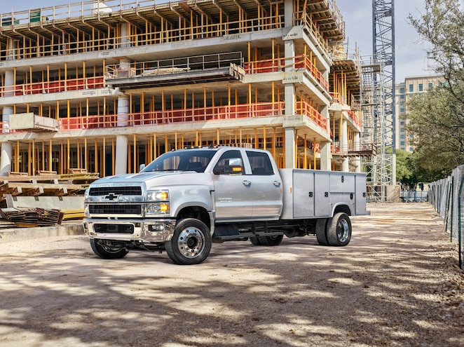 First Look–2019 Chevrolet Silverado 4500HD, 5500HD, and 6500HD Revealed in Indy