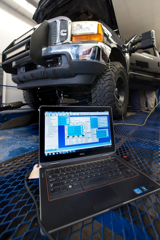 027 Compound Install Laptop At Dyno