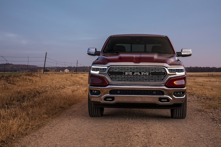 First Drive 2019 Ram 1500 Front