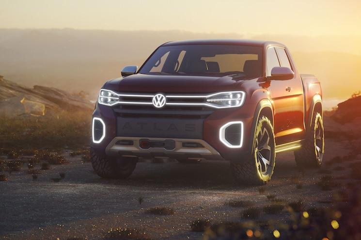 2018 Nyias Volkswagen Atlas Tanoak Concept Exterior Front Quarter 02