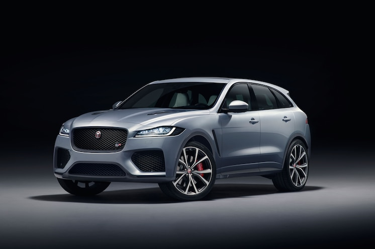 NYIAS 2018 – Supercharged Kitty: Jaguar Gives 2019 F-Pace the SVR Treatment