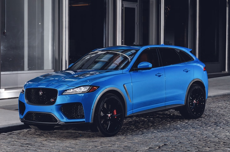 2019 Jaguar F Pace Svr 19MY New York 280318 002