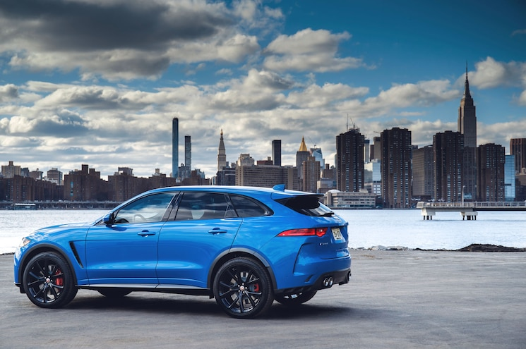 2019 Jaguar F Pace Svr 19MY New York 280318 009
