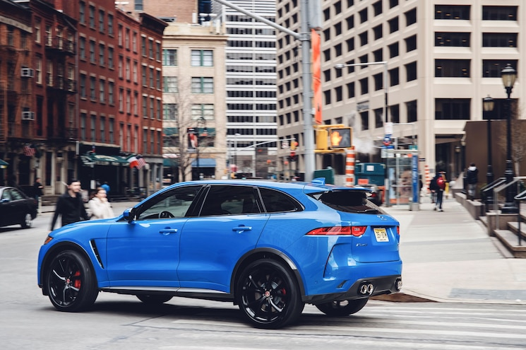 2019 Jaguar F Pace Svr 19MY New York 280318 011