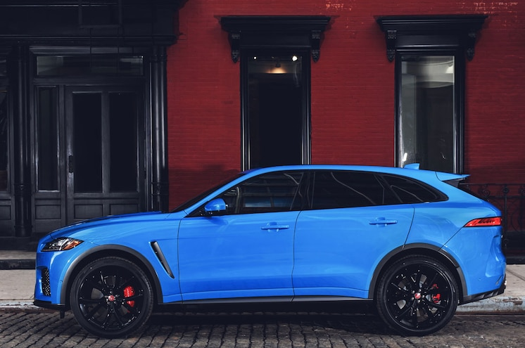 2019 Jaguar F Pace Svr 19MY New York 280318 012