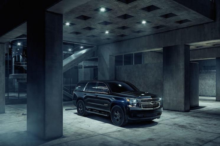 Chevrolet Adds Midnight Edition Trim to 2018 Tahoe Custom