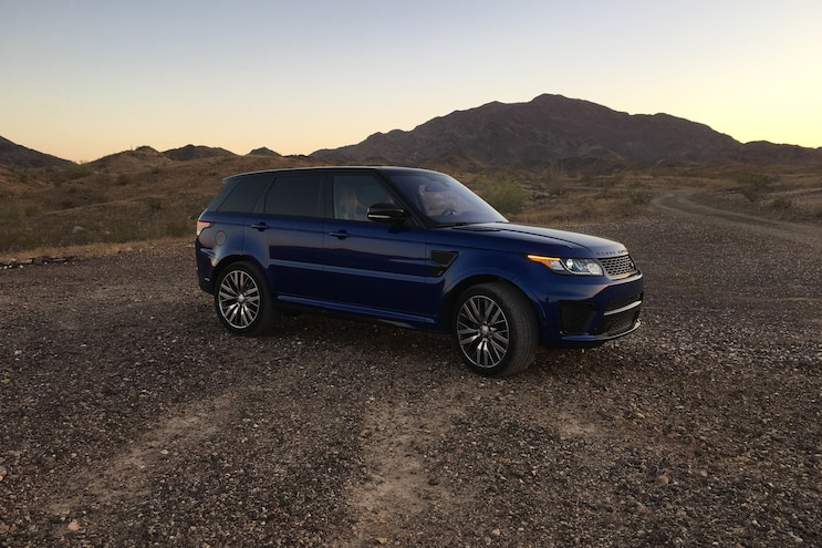 Long-Term Report 4: 2016 Range Rover Sport SVR