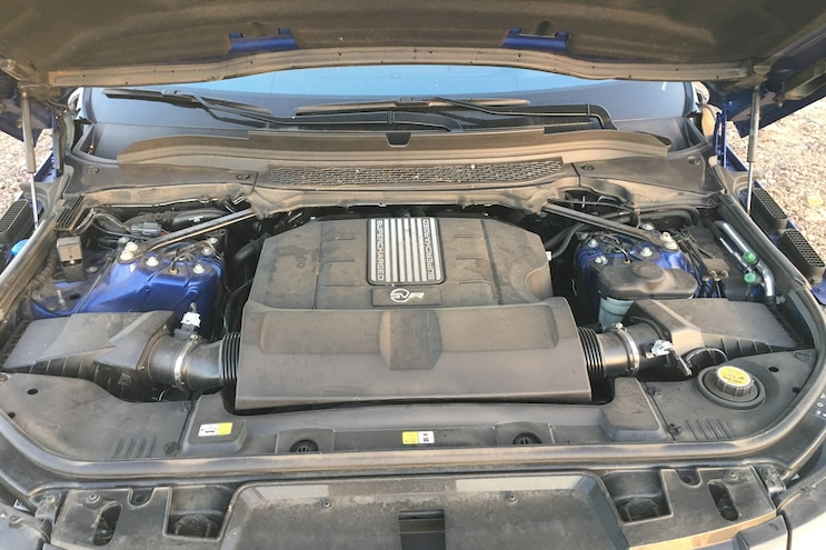 2016 Range Rover Sport Part 4 Supercharged Engine 006