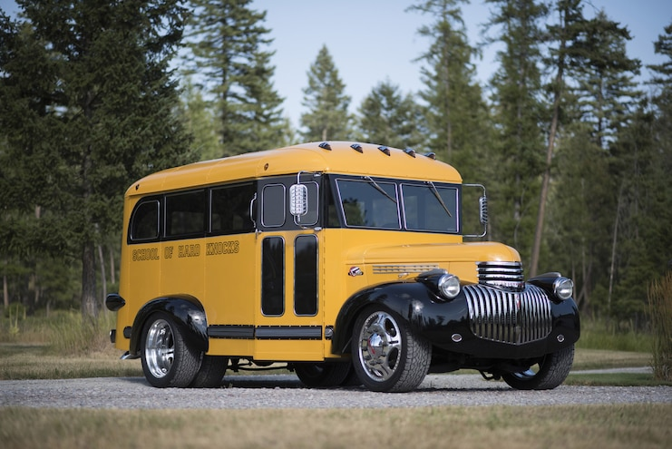 The Magic Bus: A Cummins Swapped, Modified 1941 Chevrolet School Bus