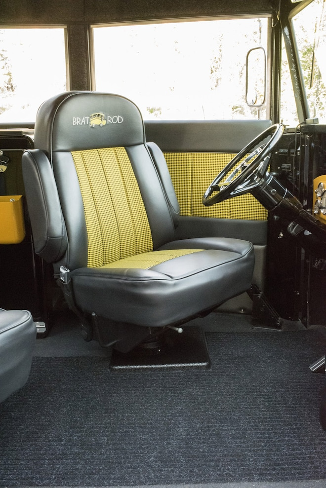 011 1941 Chevrolet Magic Bus Driverseat