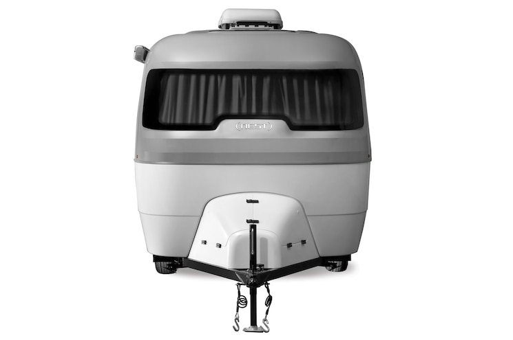 Airstream Nest Exterior Front View