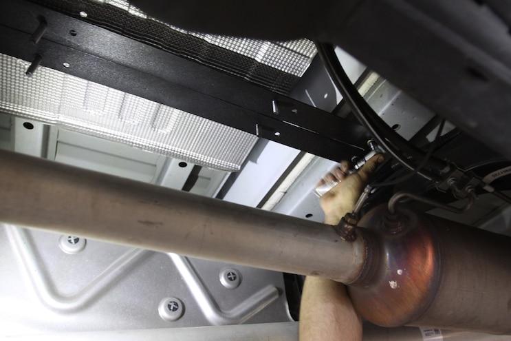 Kleinn Air Horns HK9 Slimeline Painted Tank Bracket